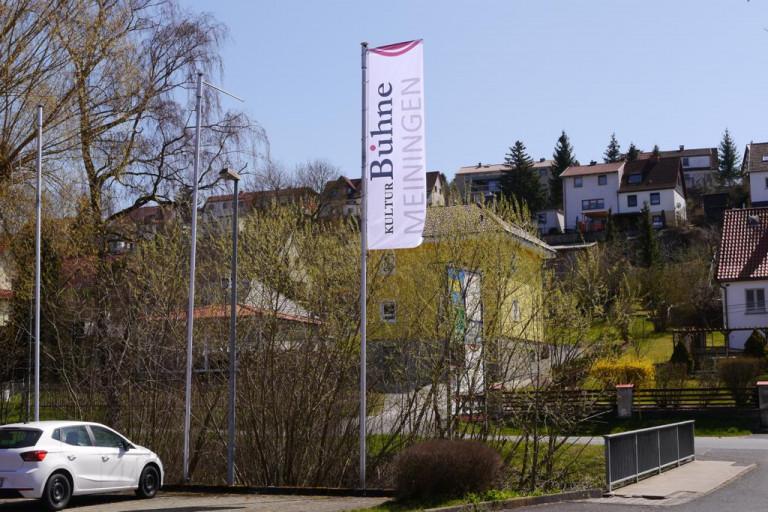 Flagge der Kulturbühne